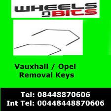 ct22vx01 Vauxhall Opel Corsa C Meriva Radio Stereo Removal Release CAR Keys