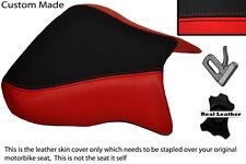 RED & BLACK CUSTOM FITS APRILIA RSV 01-03 TUONO 04-05 1000 FRONT SEAT COVER