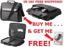 """NEW TRUST 16"""" NOTEBOOK LAPTOP BAG + FREE MOUSE & P&P"""