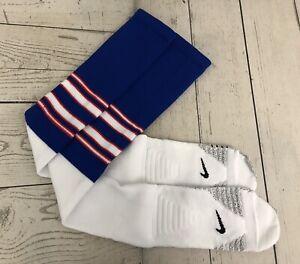 New New York Giants Nike NFL Team Issued Over The Knee Socks XL - 11 - 13.5