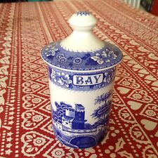 Spode Blue Room Bay Tower Spice Jar  Best Discontinued