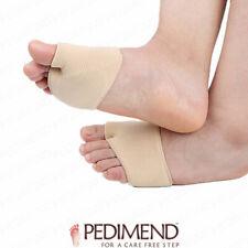 Metatarsal Pads Ball of Foot Metatarsalgia Inserts Gel Cushions PEDIMEND™ UK