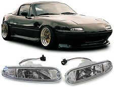 CLEAR INDICATORS LIGHTS FOR MAZDA MIATA MX5 NA 5/1990-4/1998 SET OF TWO 276727MI