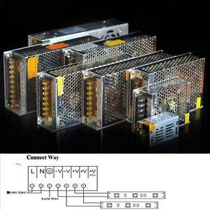 AC110V/220V to DC12V 10A 15A 20A 30A LED Strip Light Power Supply Transformer