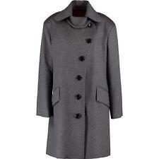 VIVIENNE WESTWOOD Red Label Women's Grey Charcoal Woolen Coat, sz IT 42
