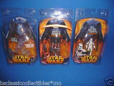 Star Wars Revenge Of The Sith Figure Holographic Yoda, Lava Vader, Clone Trooper