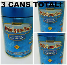 3 Cans! Rajnigandha 100grams Pan Masala Export Quality 300grams Total USA SELLER