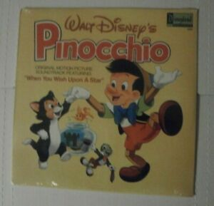 *SEALED* WALT DISNEY'S STORY OF PINOCCHIO MUSIC FROM VINYL RECORD VINTAGE 1202