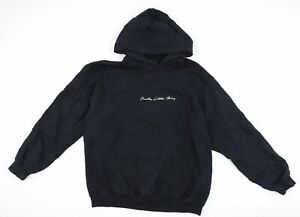 PRETTYLITTLETHING Womens Black   Pullover Hoodie Size M