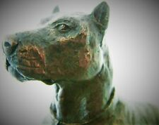 More details for pit bull a fabulous creation by david geenty cc bronze statue sculpture ornament
