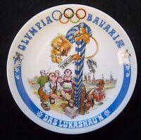 Orig.Porzellanteller  Olympische Spiele MÜNCHEN 1972 - Bayrische Disziplin D  !!