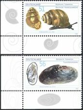Germany 2002 Mussel/Snail/Molluscs/Shells/Nature/Conservation 2v set (n18818)