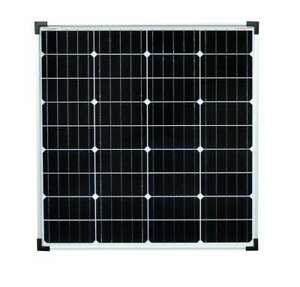 enjoysolar® Monokristallin 80Watt 12V Solarmodul Solarpanel 80W Garten Wohnmobil