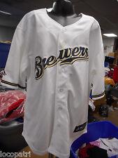 Baseball & Softball WunderschöNen Neu Milwaukee Brewers Erwachsene Herren Large L Shirt Von Majestätisch 63mw Fanartikel