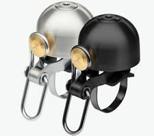 Spurcycle Bell Fahrradklingel Designed Fahrradglocke USA aus Edelstahl in Silber