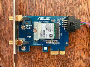 Asus PCE-AC55BT Highspeed WLAN-Adapter / WLAN-Karte für PCI-Express