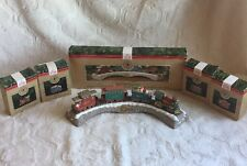 Hallmark Christmas Ornament NEW Claus & Co. Railroad 1991 Train Caboose 5pcs