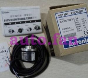 1PCS NEW  E40S6-100-3-T-24  Autonics  rotary encoder 12-24V DC