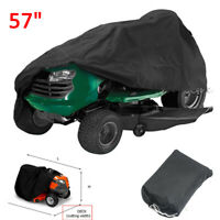 Waterproof Riding Lawn Mower Tractor Cover Garden Heavy Duty Fit Deck up to 57''