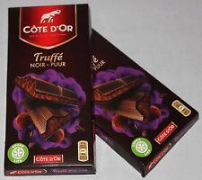 Côte d'Or Truffé Noir Puur 380g (2x190g) Trüffel belgische Schokolade Belgien