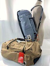 TNF The North Face  Berkeley Medium Duffel Backpack NWT Choose Gray or Tan 49L