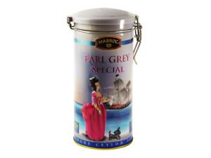 Mabroc Ceylon Tea - Earl Grey 200g Loose Leaf Tea In Metal Caddy