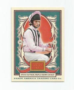 2013 Panini Golden Age Card #109 Steve Cauthen (Jockey) (NM)