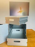 Aluminium Einschub für Flugzeugtrolley oder Boxen Alu Drawer Schublade NEU EDEL
