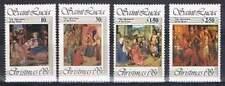 St. Lucia postfris 1981 MNH 564-567 - Kerstmis / Christmas (P336)