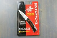 "WINCHESTER OUTDOORSMAN 3"" LOCK BACK KNIFE - NEW IN PACKAGE"