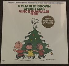 Guaraldi - Charlie Brown Christmas LP [Vinyl New] Green Record Album Holidays