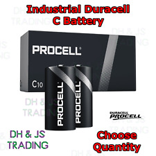 Duracell C Batteries MN1400 LR14 1.5v HP11 Battery - Choose Qty 1 2 4 6 8 10 20
