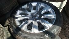 Range rover sport Land Rover Discovery 21 SILVER WHEEL & TYRE 275 45 R21 PIRELLI