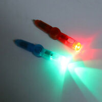 LED Colourful Luminous Spinning Rolling Pen Ball Point Pen Supplies Varied Co CJ