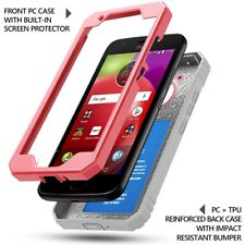 Rugged Shockproof Case For Moto E 4th Generation | Dust Resistant Cover Pink
