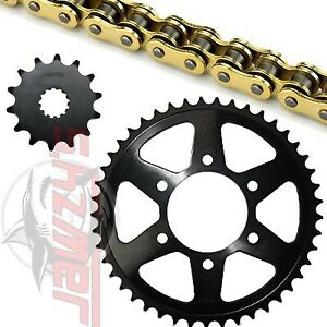 SunStar 520 RTG1 O-Ring Chain 15-43 T Sprocket Kit 43-1924 for Kawasaki