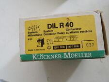 Klöckner  Moeller DILR40 230V System Hilfsschütz DIL R 40