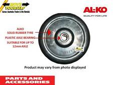"629600 ALKO 6"" (150mm) SPARE JOCKEY WHEEL SOLID RUBBER TYRE TRAILER BOAT"