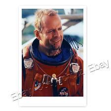 Bruce Willis in Armageddon -  Autogrammfotokarte laminiert