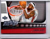 2006-07 Upper Deck MVP Watch #MVP-LJ Lebron James SILVER [PACK FRESH] 🏀 CSV