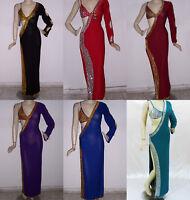 Sexy Egyptian Belly Dance Baladi/Saidi Galabeya Women Dress Costume