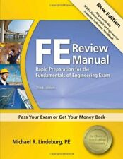 FE Review Manual by Lindeburg