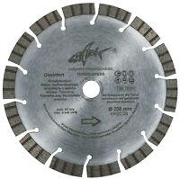 Diamanttrennscheibe Beton 230 Turbo Speed Diamant-Trennscheibe 15mm Turbosegment