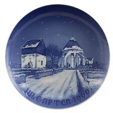 Royal Copenhagen Bing&Grondahl Christmas Plate 1960 Original Porcelain First