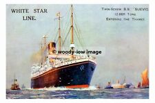 rp02661 - White Star Liner - Suevic - photo 6x4