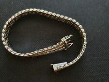 Goldarmband 585 Weissgold 14 Karat 29,2 Gramm