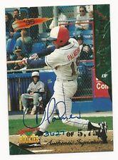Orlando Palmeiro 1995 Signature Rookies Autographed Card.# 41