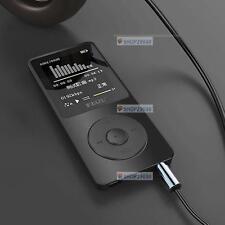 """1.8""""TFT Screen RUIZU X02 HiFi 4G MP3/4 Music Player  Recorder High Quality CB"""