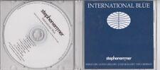 STEPHEN EMMER International Blue PROMO CD ALB MIDGE URE GLENN GREGORY HEAVEN 17