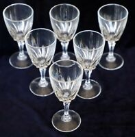 6 Cristal D'Arques-Durand Flamenco Crystal Cordial Sherry Glasses 75ml